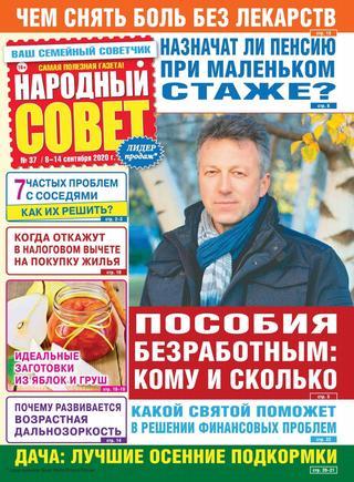 Народный совет №37, сентябрь 2020