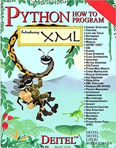 Python How to Program by Harvey M. Deitel, Paul J. Deitel