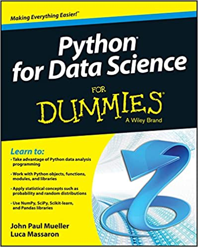 Python for Data Science For Dummies by John Paul Mueller and Luca Massaron
