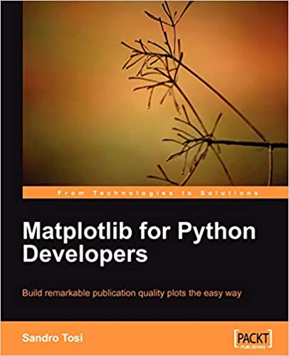 Matplotlib for Python Developers, 2009 by Sandro Tosi