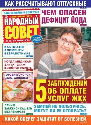 Народный совет №45, ноябрь 2020