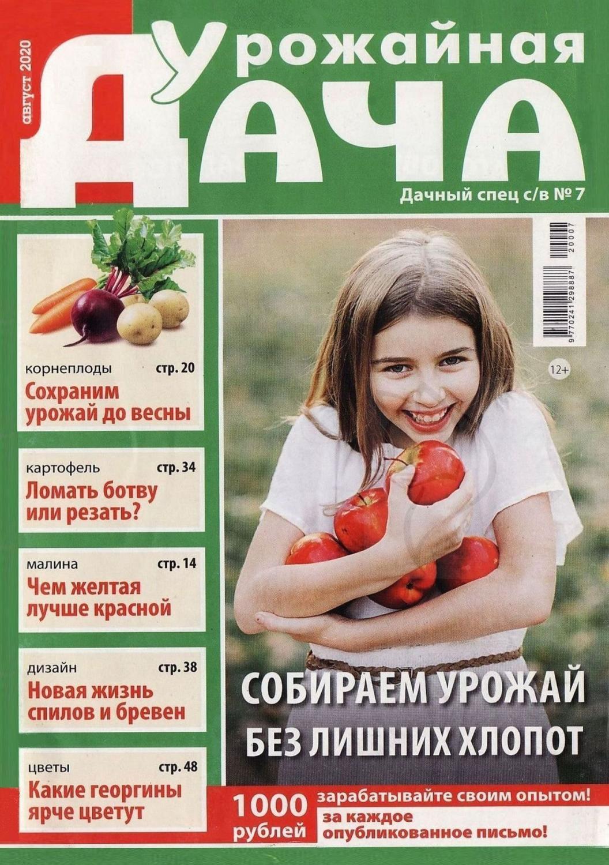 Урожайная дача №7, август 2020
