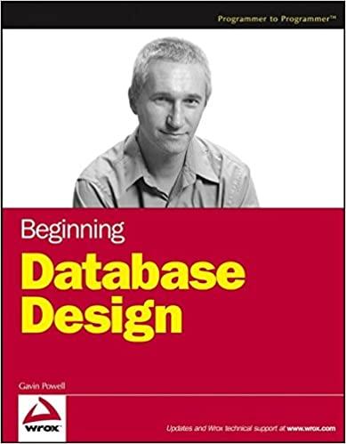 Beginning Database Design by Gavin Powell