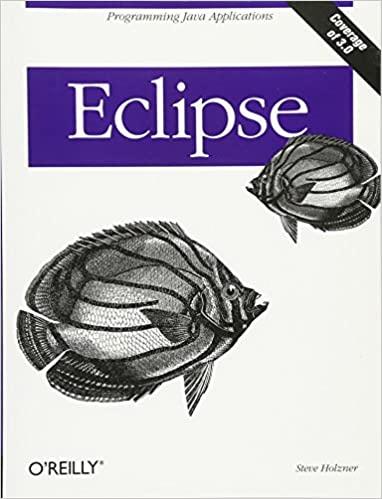 Eclipse: A Java Developer's Guide by Steve Holzner