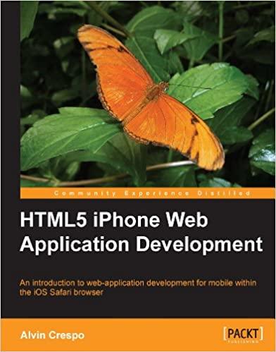 HTML5 iPhone Web Application Development by Alvin Crespo