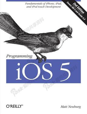 Programming iOS 5: Fundamentals of iPhone, iPad, and iPod touch Development by Matt Neuburg
