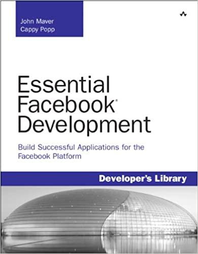Essential Facebook Development: Build Successful Applications for the Facebook Platform by John J. Maver, Cappy Popp