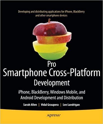Pro Smartphone Cross-Platform Development by Sarah Allen, Vidal Graupera, Lee Lundrigan