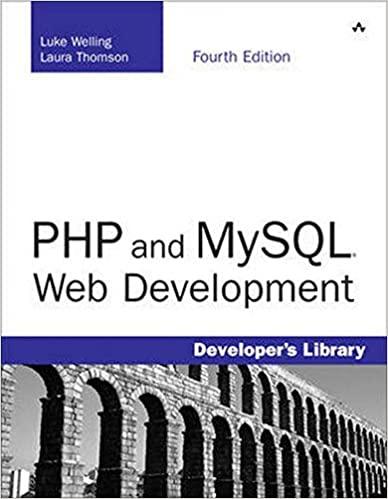 PHP and MySQL Web Development. 4th Edition by Luke Welling, Laura Thomson
