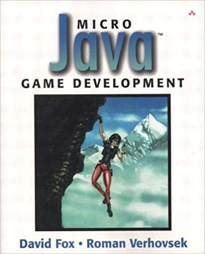 Читать журнал Micro Java™ Game Development by David Fox, Roman Verhovsek, Marty Rabinowitz
