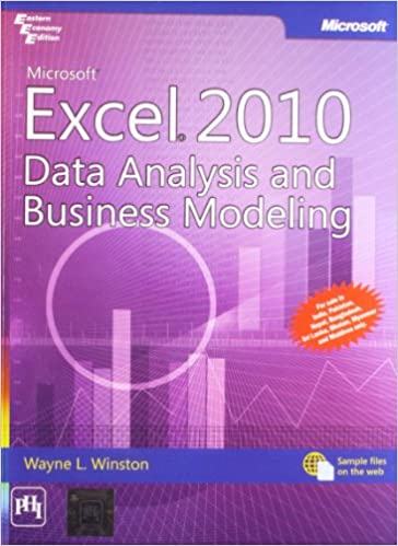 Microsoft Excel 2010 Data Analysis and Business Modeling by Winston W