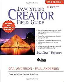 Java Studio Creator: Field Guide by Gail Anderson