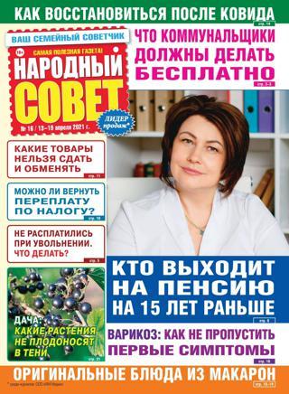 Народный совет №16, апрель 2021