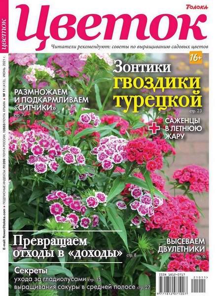 Читать журнал Цветок №11, июнь 2021